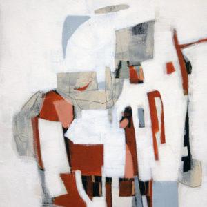 Thumbnail: Millarc ACCIDENTALY ON PURPOSE  Acrylic on canvas 16X20 $500