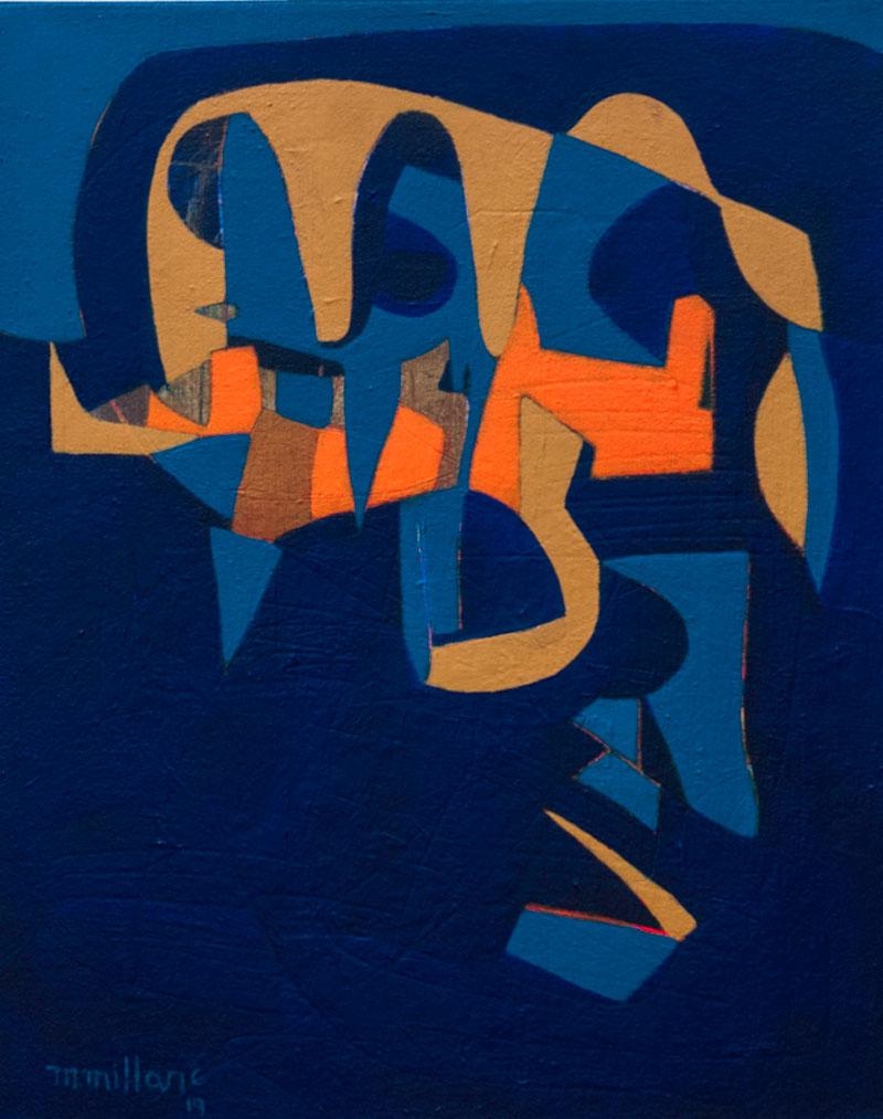 Millarc IN THE LOOP acrylic on canvas 16X20 650