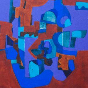 Thumbnail: Millarc RUMBA acrylic on canvas 24X30 1,800