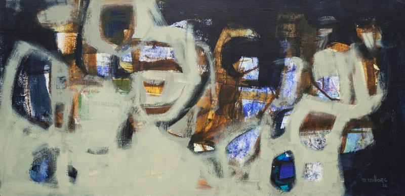 Millarc FUSION Acrylic on canvas 30X48 1,700