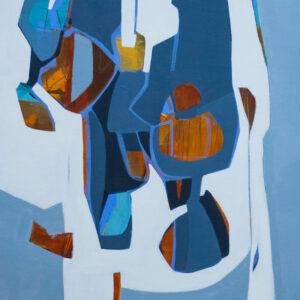 Thumbnail: Millarc INTERNAL MILIEU Acrylic on canvas 20X24 $850