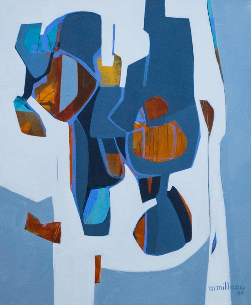 Millarc INTERNAL MILIEU Acrylic on canvas 20X24 $850