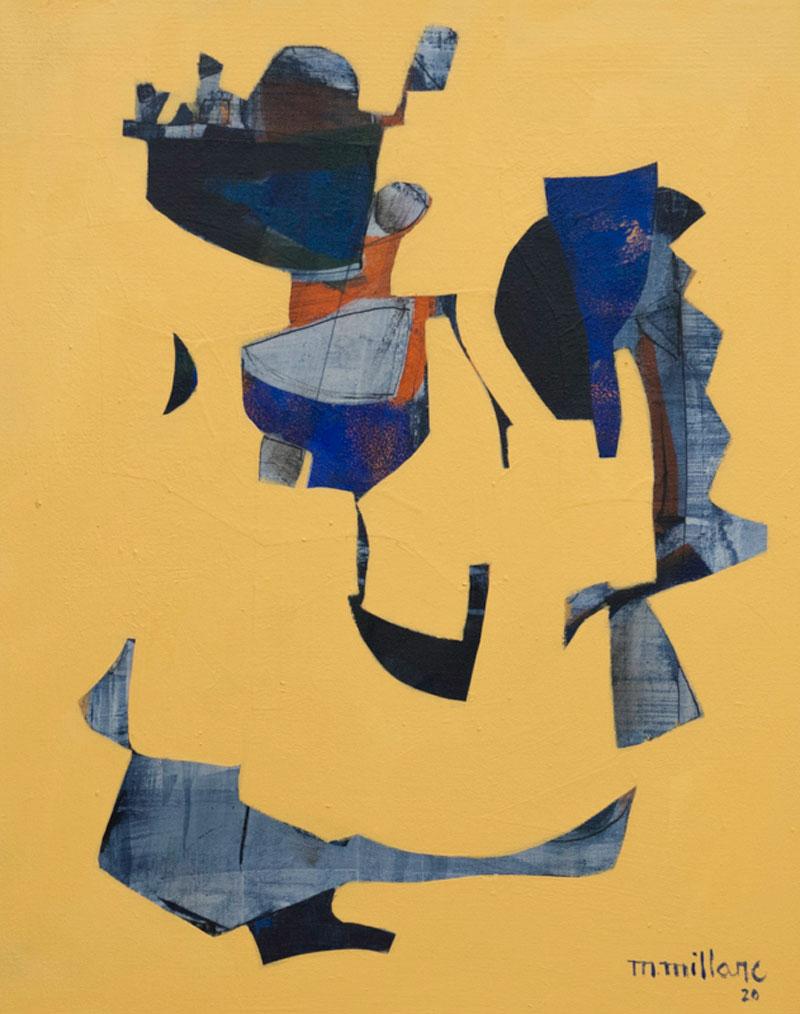 Millarc THE WILD SIDE acrylic on canvas 16X20 750