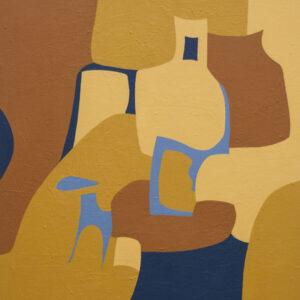 Thumbnail: Millarc SAUDADE mixed media on canvas 24X30 850