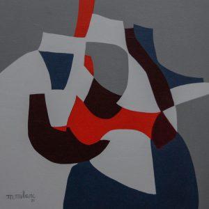 Thumbnail: Millarc PLAYFUL VARIATIONS acrylic on canvas 24X24 850
