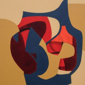 Thumbnail: Millarc REMINISCING acrylic on canvas 18X24 700