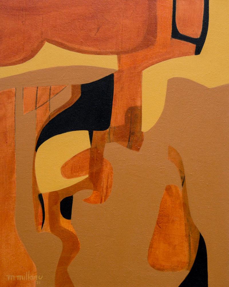 Millarc SHADES OF FALL acrylic on canvas 16X20 750