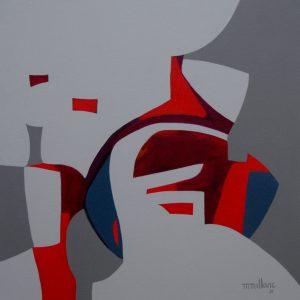 Thumbnail: Millarc TRAVERSE acrylic on canvas 24X24 850